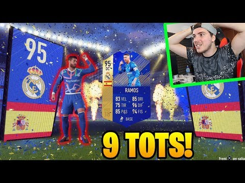 IL KING DEI TOTS!! 9 TOTS GRATIS!! - LIGA TOTS Pack Opening FIFA 18 Ultimate Team