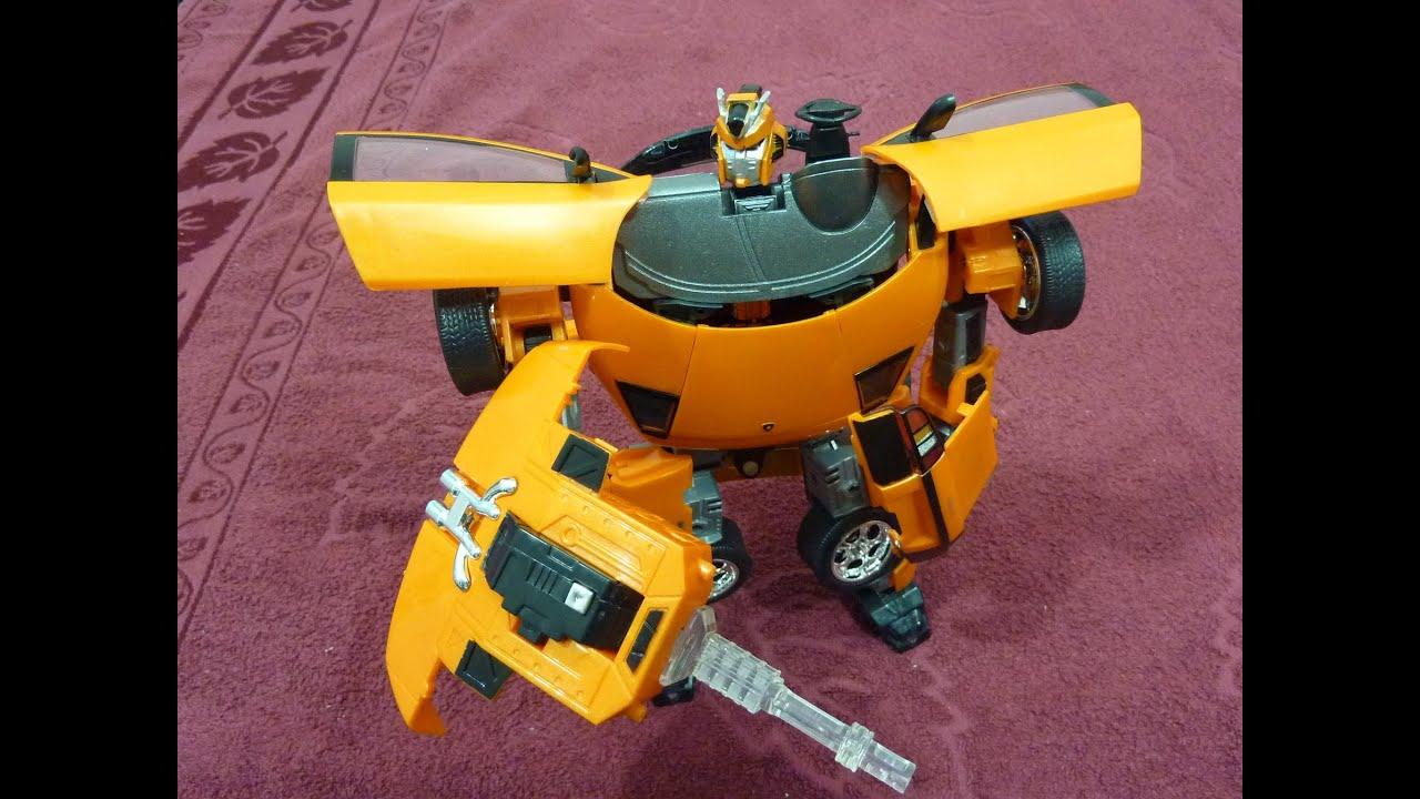 Распаковка Игрушка робот transformer roadbot