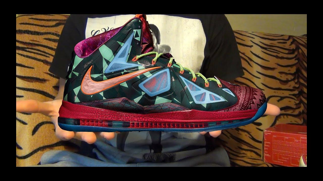 "Видео-обзор Nike LeBron X (10) ""What The MVP"" от Свистова ... Lebron 10 What The Mvp"