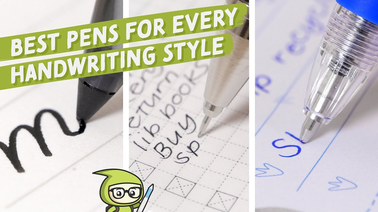 Download The Best Pens for Every Handwriting Style
