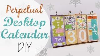 Calendario Perpetuo da tavolo fai da te - Desktop Perpetual Calendar DIY