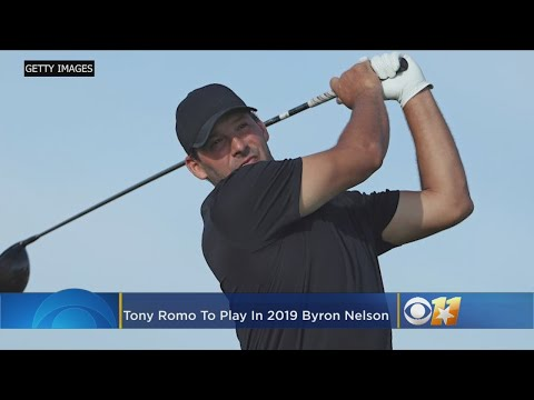 Tony Romo To Play In 2019 Byron Nelson Golf Tournament