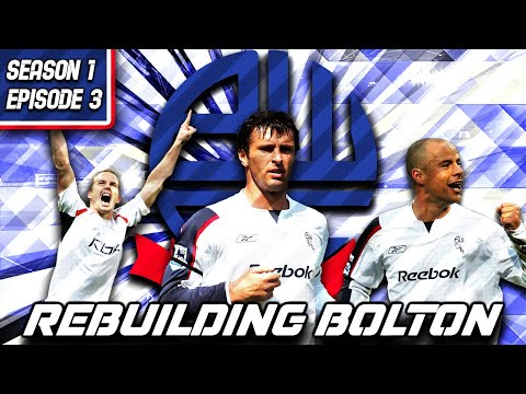 Rebuilding Bolton - S1-E3 Plumbing With Extra Steps!  | Football Manager 2021