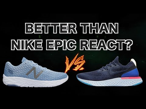 New Balance BEACON REVIEW | Better than the NIKE EPIC REACT & HOKA CLIFTON?