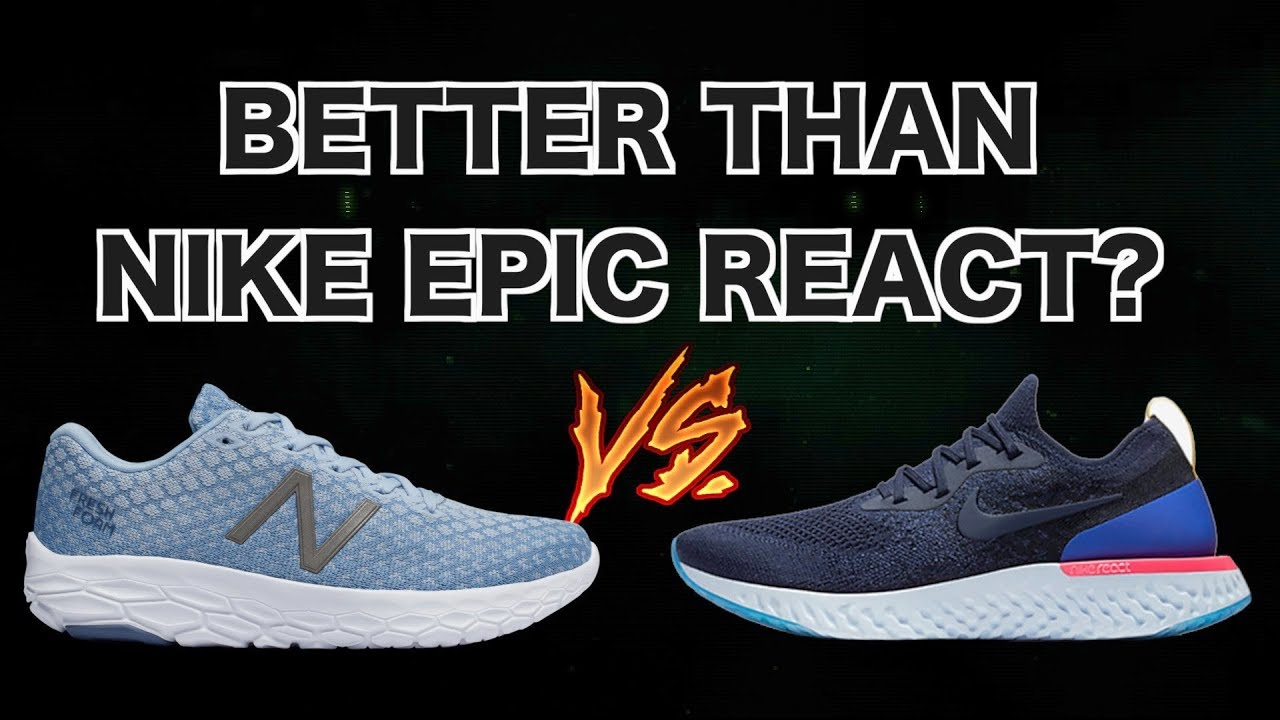 New Balance BEACON REVIEW | Better than the NIKE EPIC REACT & HOKA CLIFTON?