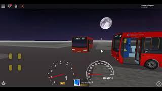 Roblox London Hackney & Limehouse Bus Simulator ELC esteem DART rota CTP 309 Extended Langdon Park