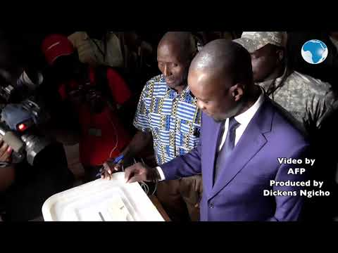 Senegal Elections: Opposition candidate Ousmane Sonko casts his vote