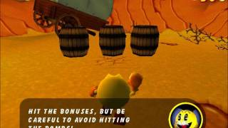 Pac-Man Adventures in Time (PC) Part 5: Artifact Piece #2 and The Wild West