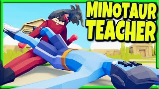 WTF Combination! Minotaur Instructor vs Every Faction - TABS MODS Gameplay System Developer Update  | NewsBurrow thumbnail