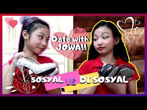SOSYAL VS. DI SOSYAL Sa Date   Date With JOWA   Aurea & Alexa