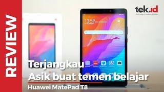 Huawei MatePad T8, tablet terjangkau teman belajar pengganti smartphone