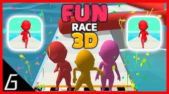 Fun Race 3D | Gameplay Walkthrough | Level 1 - 10 + Bonus Level (iOS - Android)