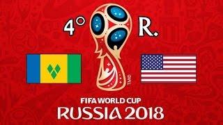 SAN VICENTE Y LAS GRANADINAS v. EE.UU. - CONCACAF 2018 FIFA World Cup - GRUPO C
