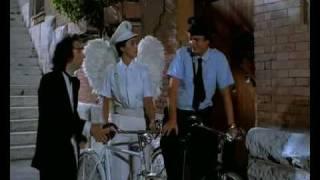 """Tu mi Turbi - Roberto Benigni - (Scena dell' Angelo musica """"via con me"""" wonderful paolo conte)"""
