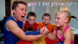 Who is the Strongest Ninja Kid? WWE SuperStar Challenge!