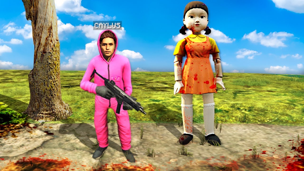 Download Adopted By SQUID GAME DOLL In GTA 5.. (Mods)