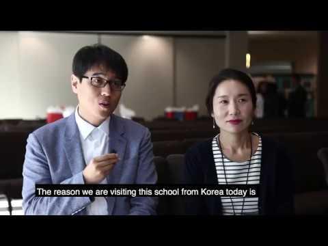 Korean Teachers Learn Inclusion from Hope Technology School