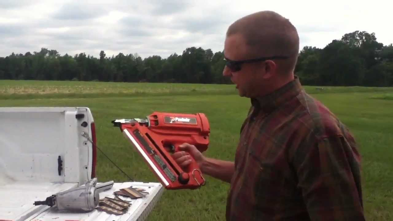 Nail Gun As A Weapon? - YouTube