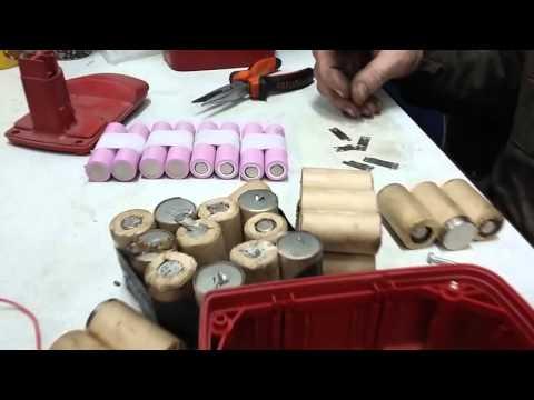 Чем заменить отслужившие аккумуляторы для шуруповёрта?