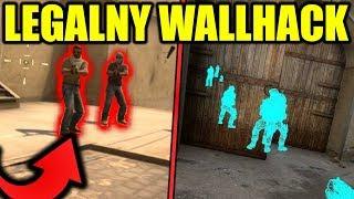 """LEGALNY """"WALLHACK"""" DO CS:GO! - 5 SPOSOBÓW"""