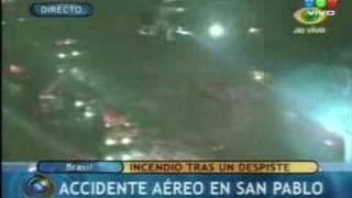 Accidente aereo en Brasil