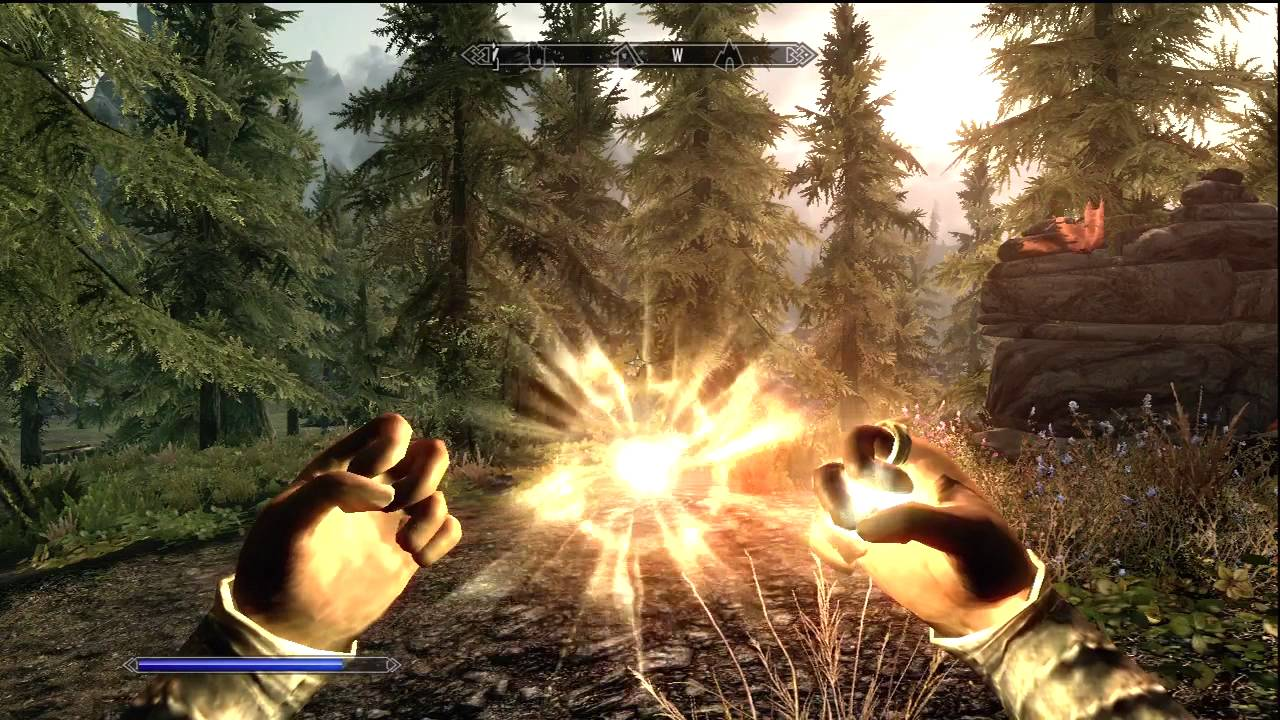 How to learn magic in skyrim