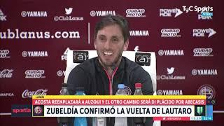Zubeldía confirmó el regreso de Lautaro Acosta para el clásico