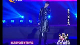 20141002紅赫之夜星耀全城巨星演唱會  張杰  JasonZhang/ZhangJie  勿忘心安 他不懂 很奇怪我愛你