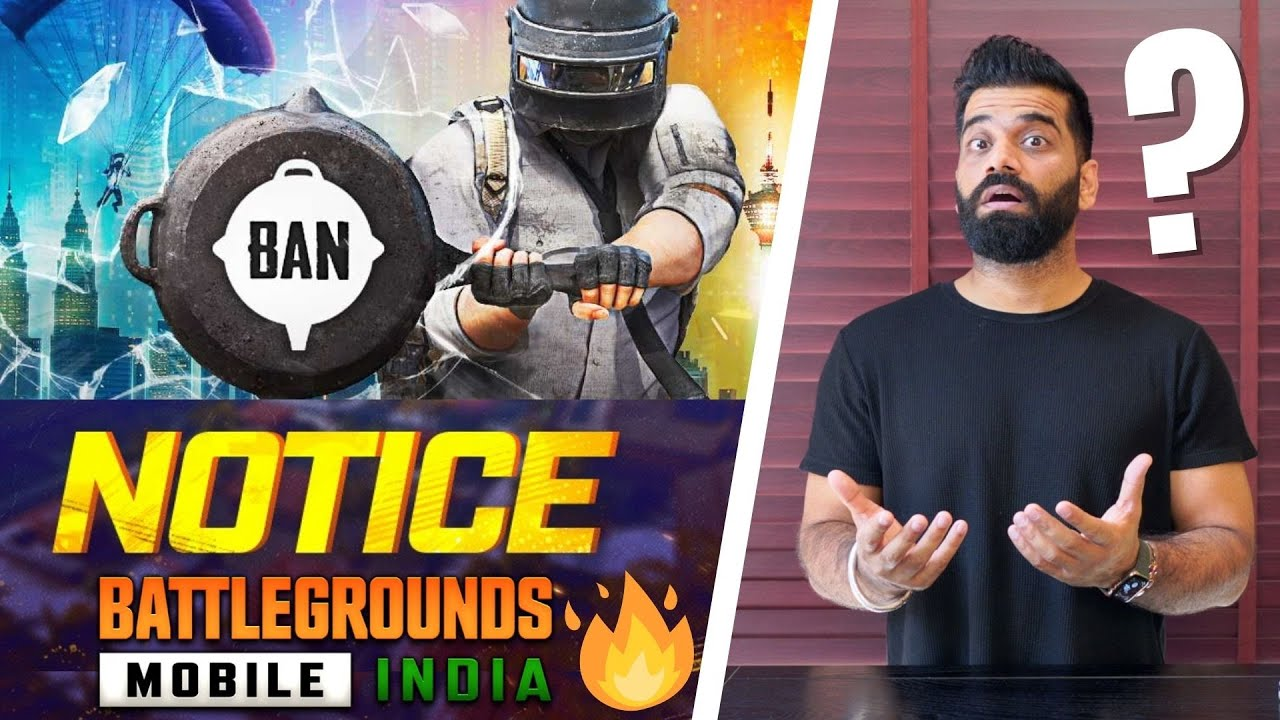 Battlegrounds Mobile India Permanent BAN Notice - Data Transfer🔥🔥🔥