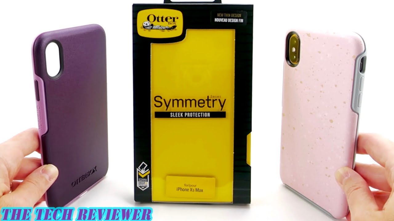 sale retailer 85da4 5d309 Loving the *NEW* OtterBox Symmetry for iPhone Xs Max: Better Buttons,  Slimmer Design, Great Grip!