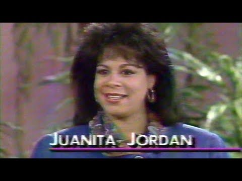 Michael Jordan's First Wife Juanita 1992 Rare Interview (27 Years Ago)