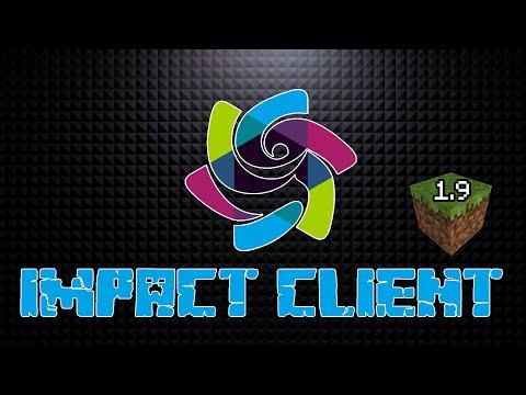 Minecraft - Impact 1.9 Minecraft Hacked Client - WiZARD HAX