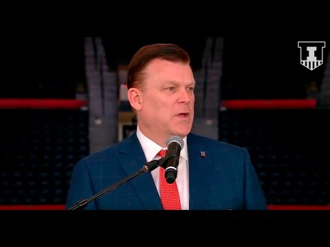 Brad Underwood Introductory Press Conference 3/20/17