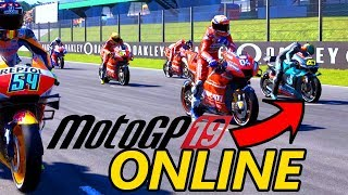 MOTOGP 19 ONLINE: Lottiamo con altri Italiani!