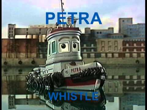 THEODORE TUGBOAT WHISTLES, OTHER SOUNDS AND PICTURES