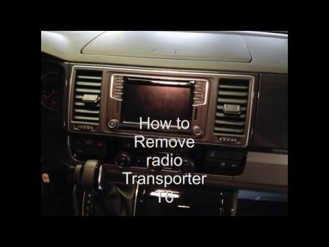 How to: radio remove transporter T6