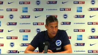 Brighton & Hove Albion manager Chris Hughton speaks about new players intergrating with eachother
