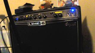 Slash tone from a line 6