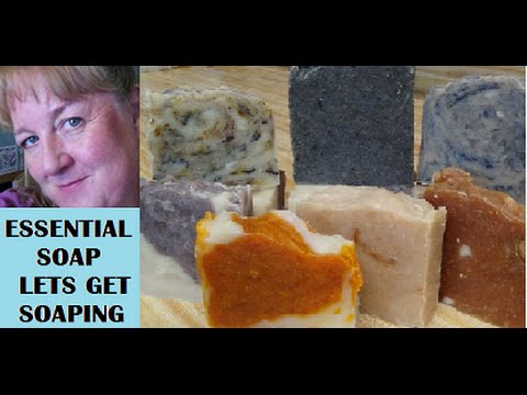 How to Make Homemade Soap with recipe