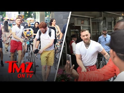 Conor McGregor Takes Baby for Bike Ride After Court Hearing   TMZ TV