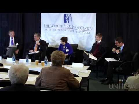 """Rudman Center Conference: """"Tough Choices and Possible Solutions"""""""