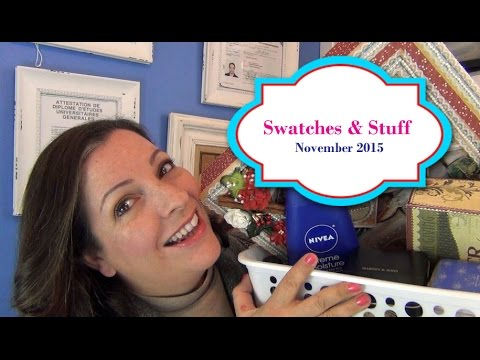 Swatches and Stuff - November 2015