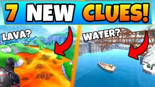 Fortnite Season 8: LAVA from EARTHQUAKES & UNDERWATER MAP?! - 7 Clues and Theories in Battle Royale