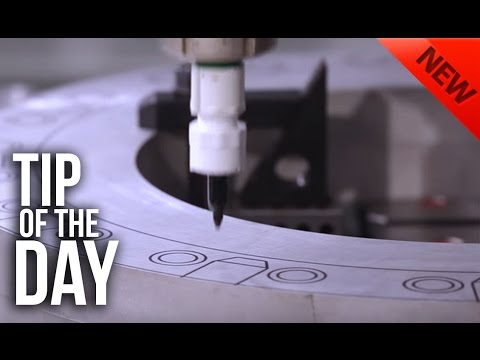 Plot your cutting path and clamp locations using your Haas CNC – Haas Automation Tip of the Day