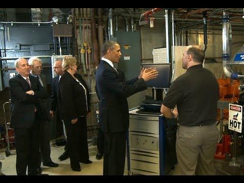 President Obama Tours Argonne National Laboratory