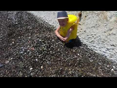 Отдых в крыму. Партенит, пляж санатория 'крым'. По совету #funnytrip )