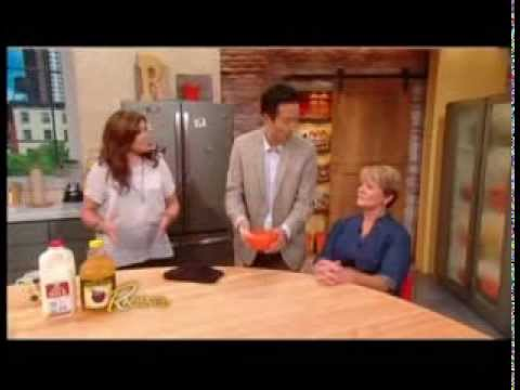 "Rachael Ray Show - How To Get A ""Facelift"" From Your Fridge?"