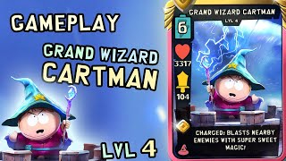 Gameplay Grand Wizard Cartman Lvl 4 | South Park Phone Destroyer