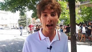 Gli studenti del Nuzzi manifestano per le vie del centro