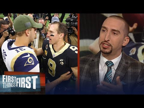 Nick Wright on the Saints handing the Rams their 1st loss of the season   NFL   FIRST THINGS FIRST